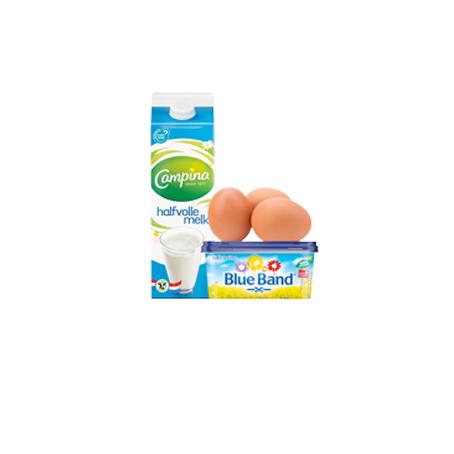 Zuivel, eieren, boter